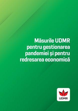 Măsurile UDMR pentru gestionarea pandemiei și pentru redresarea economică