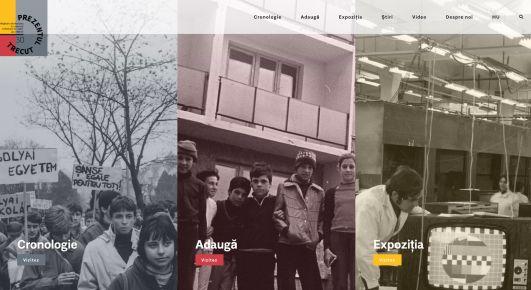 Se lansează pagina Prezentul trecut în limba română